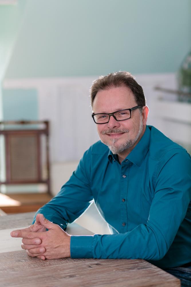 Der CDU-Bundestagsabgeordnete Frank Heinrich in Chemnitz