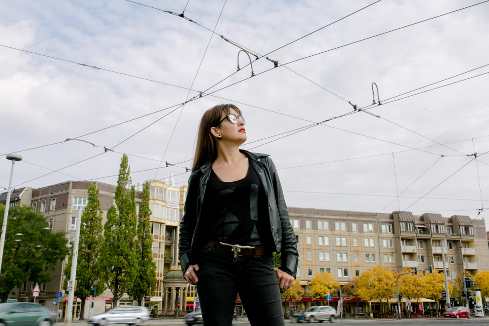Imagefoto von Sängerin Sally Grayson in Dresden