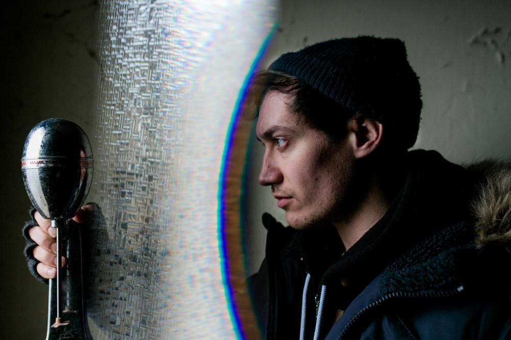 Künstlerportrait von Songwriter John van Deusen in Dresden