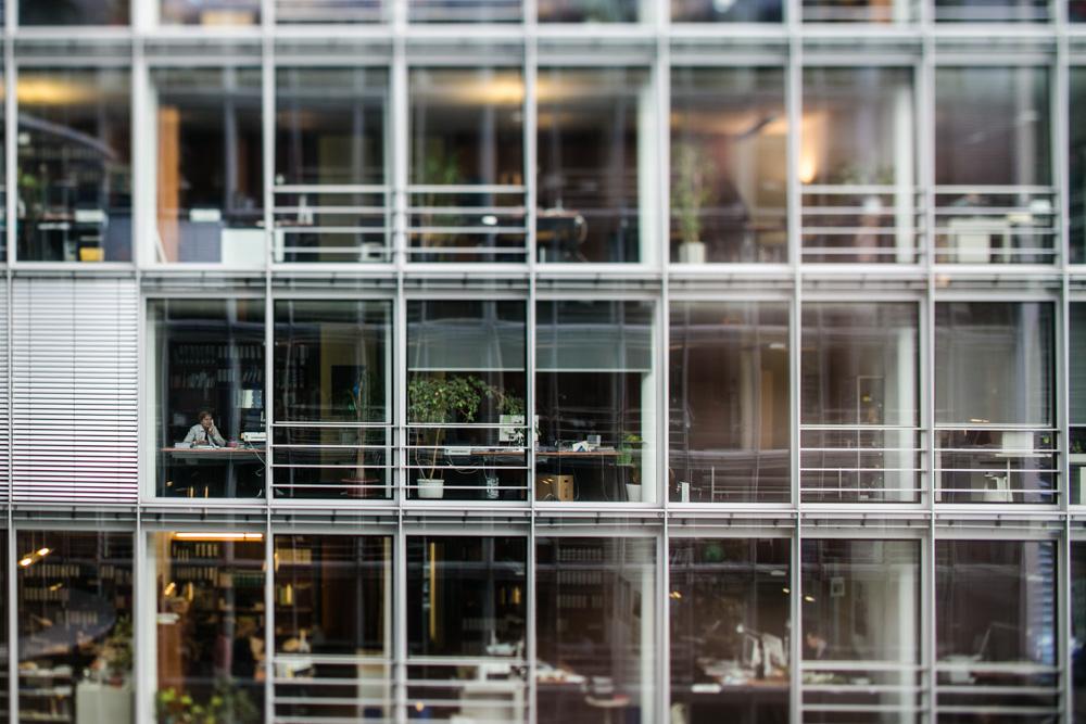 Paul-Löbe-Haus in Berlin fotografiert von Fotograf im Bundestag.