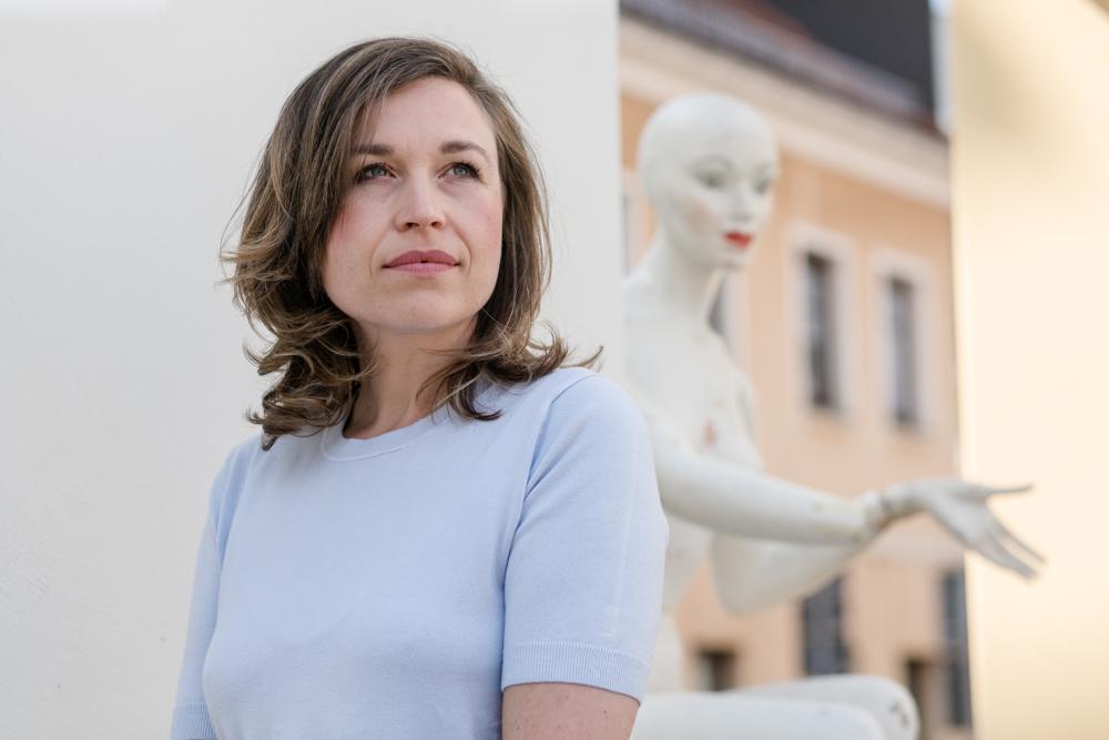 Imagefoto einer Fotografin und Geschäftsfrau bei Dresden