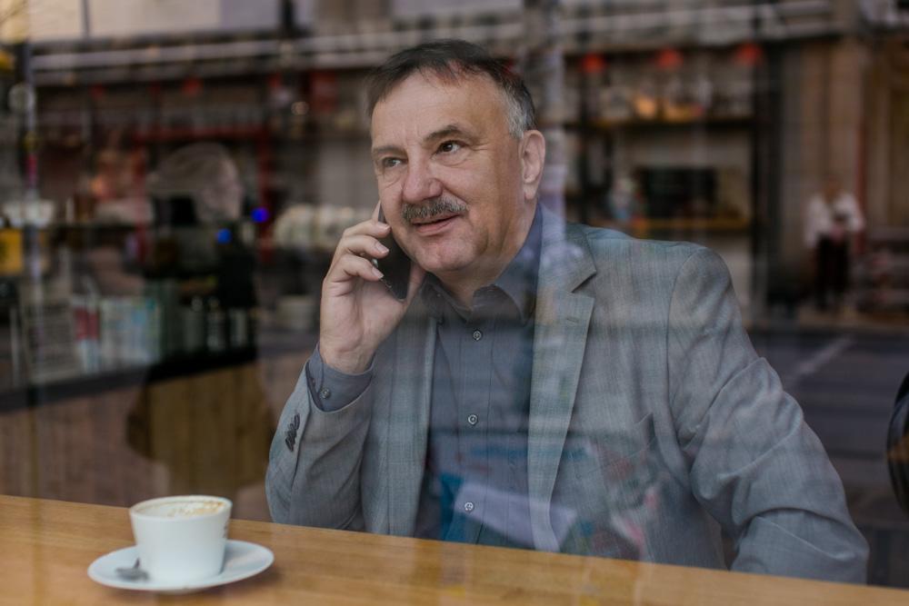 Dokumentarische Businessportraits eines Beraters in Dresden von Fotograf Dresden