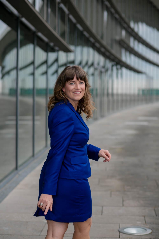 Businessportrait einer Geschäftsfrau in Dresden
