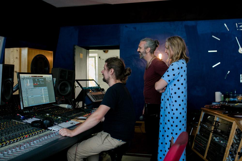 Aufnahme von BAP im Castle-Studio Röhrsdorf