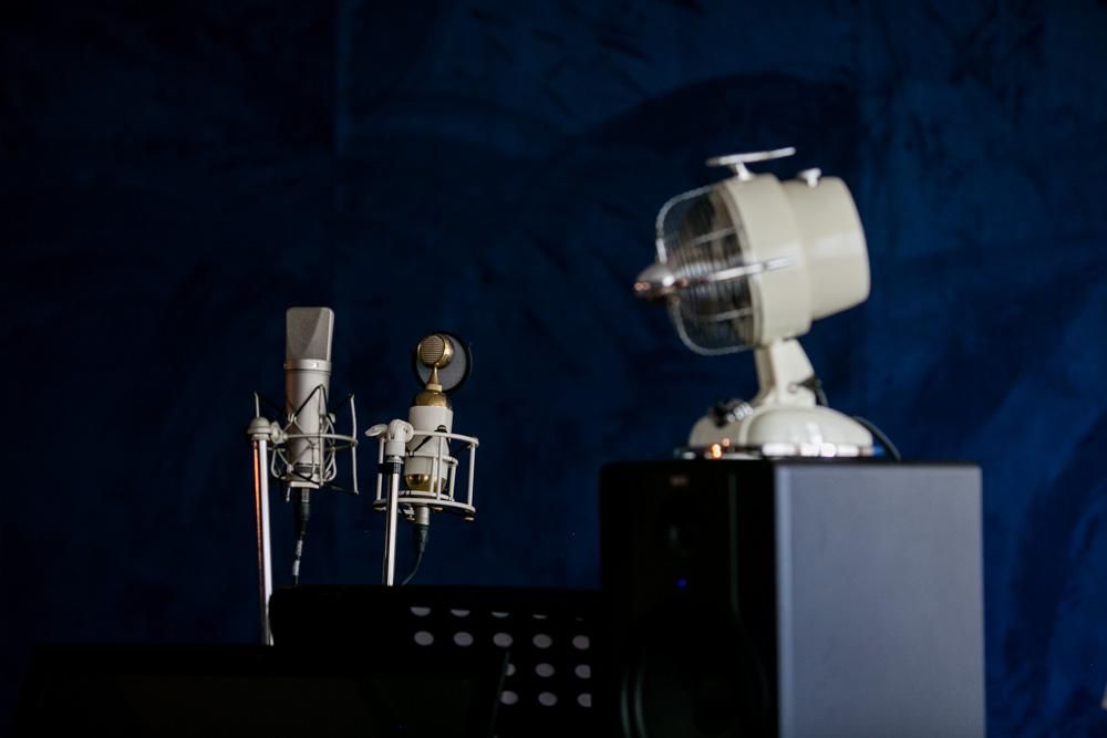 Mikrofone im Castle-Studio Röhrsdorf