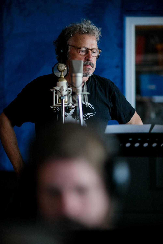Wolfgang Niedecken von BAP im Studio