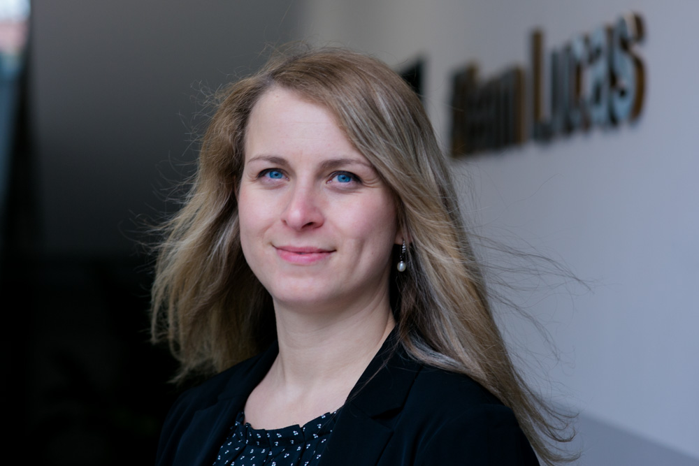 Businessportrait von Geschäftsführerin in Königsbrück