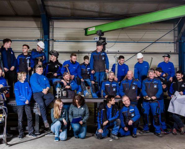 Teamfoto von Metallbau Lucas in Königsbrück von Businessfotograf in Dresden